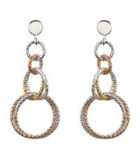 Links Of London Aurora Double Link Earrings Female