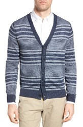 Michael Bastian Men's Stripe Linen Cardigan