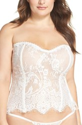 Icollection Plus Size Women's Lace Bustier