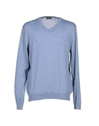 Lab. Pal Zileri Sweaters Sky Blue