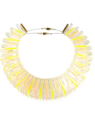 Sarah Angold Studio 'Matsuka' Necklace Yellow And Orange
