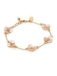 Kate Spade Disco Pansy Mother Of Pearl Bracelet