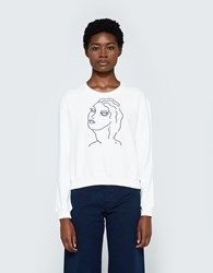Paloma Wool Guiri Sweatshirt In White