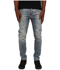 Armani Jeans Low Crotch Torque Rip And Repair Denim In Torque