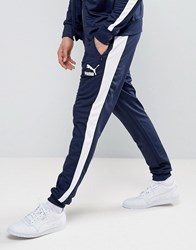 Puma Joggers In Navy Blue