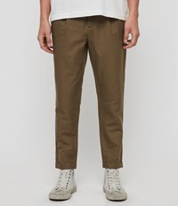 Allsaints Drayson Trouser Dusty Khaki Green