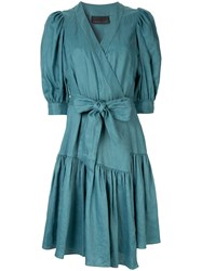 Ginger And Smart Serenity Wrap Dress Green