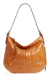 Hobo Serra Leather Bag Brown Earth