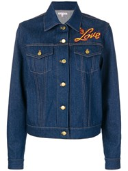 Olympia Le Tan I Do My Own Thing Jacket Blue