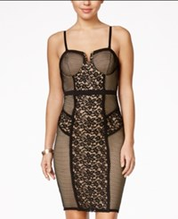 Material Girl Juniors' Lace Bodycon Dress Only At Macy's Black