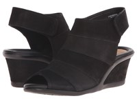 Earth Coriander Black Vintage Women's Wedge Shoes