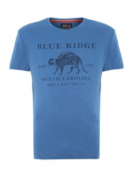 Army And Navy Ridge Graphic Tee Royal Blue