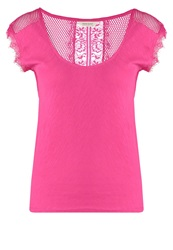 Naf Naf Yent Basic Tshirt Indian Pink