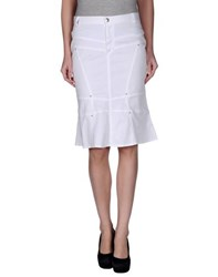 D.Exterior Skirts Knee Length Skirts Women
