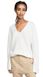 360 Sweater Reese Cashmere White
