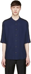 Stephan Schneider Navy Button T Shirt