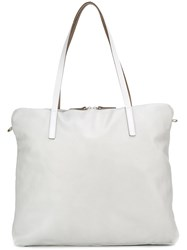 Ally Capellino Large 'Amber' Tote Bag Grey