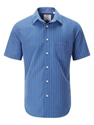 Skopes Soft Touch Casual Shirts Blue
