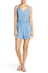 Seafolly Women's Chambray Cover Up Romper