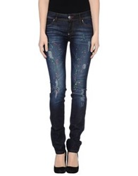 Philipp Plein Denim Pants Blue