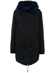 Mr And Mrs Italy Padded Parka Black