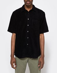 Our Legacy Terry Ss Shirt Black