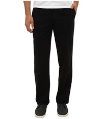 Dockers Easy Khaki D2 Straight Flat Front Black Men's Casual Pants