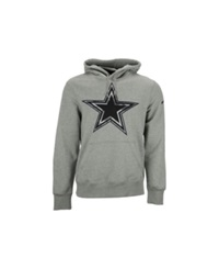 Nike Men's Dallas Cowboys Fly Over Pack Hoodie Gray