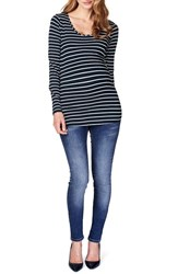 Women's Noppies 'Lely' Stripe Scoop Neck Long Sleeve Tee
