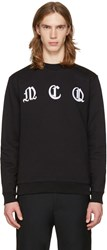 Mcq By Alexander Mcqueen Black Clean Logo Pullover