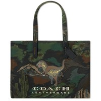 Coach Camo Rexy Tote Bag Green