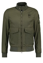 Blauer Biomber Bomber Jacket Military Green Oliv