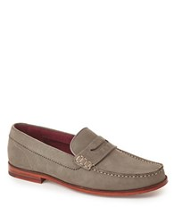 Ted Baker Miicke2 Leather Moccasins Grey