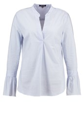 More And More Blouse Italian Blue