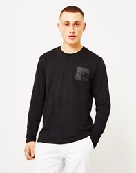 The North Face Black Label Long Sleeve Fine T Shirt Black