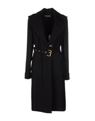 Tom Ford Coats And Jackets Full Length Jackets Women Black