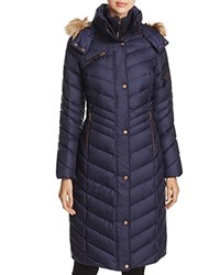 Marc New York Rachael Maxi Puffer Coat Navy