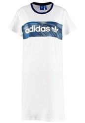 Adidas Originals Jersey Dress White