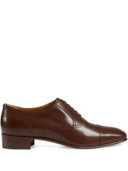 Gucci Perforated Oxford Shoes 60