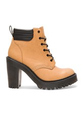 Dr. Martens Persephone Padded Collar Boot Tan