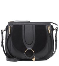 See By Chloe Hana Hobo Large Shoulder Bag Black