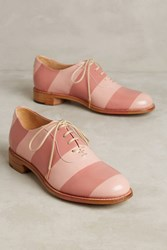 Anthropologie The Office Of Angela Scott Mr. Smith Oxfords Pink