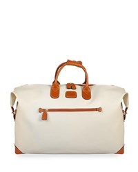 Bric's Firenze Cream 22 Cargo Duffel Luggage