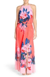 Ted Baker Women's London Orchid Wonderland Cover Up Maxi Dress