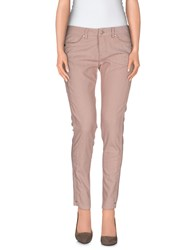 Amy Gee Denim Denim Trousers Women Skin Color