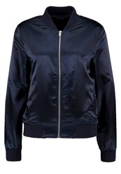 Only Onlstarly Bomber Jacket Dark Blue