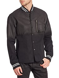 Prps Solid Long Sleeve Jacket Black