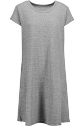 Current Elliott The Beach Tee Pleated Cotton Jersey Dress Anthracite