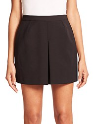 Vince Inverted Pleat Skirt Black