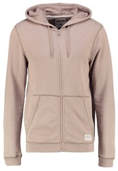 Tom Tailor Denim Tracksuit Top Desert Taupe Beige Light Brown